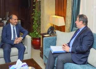 """"""" نصار""""  يبحث مع شركة تركية توسيع استثماراتها فى السوق المصرى"""