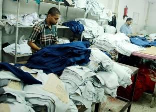 عمال مصنع ملابس: «المستهلك ساب المنتج المصرى لأن المستورد أرخص»