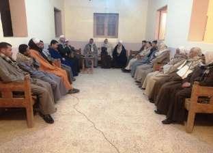 عائلة بسوهاج تقيم سرادق عزاء للرئيس الراحل محمد حسني مبارك