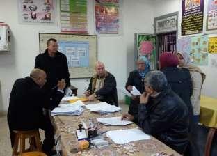 """لجنة من """"إدارة المنتزه"""" بالإسكندرية تتابع العملية التعليمية بـ3 مدارس"""