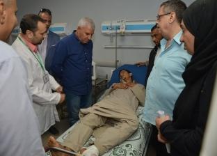 """محافظ مطروح يتفقد مستشفى """"النجيلة"""" لمتابعة سير العمل"""