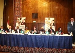 """ابنة رئيس نيجيريا في ضيافة """"المستثمرات العرب"""": نحتاج السلام في أفريقيا"""