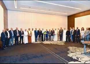 """""""السلمي"""" يبحث تطورات أوضاع المنطقة مع سفراء الدول العربية في أبو ظبي"""