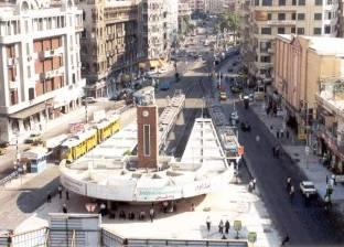 محافظ الإسكندرية يفتتح المرحلة الأولى من تطوير ميدان محطة الرمل