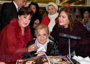 نادية لطفى بعد الاحتفال بعيد ميلادها الـ82: أشعر بأنه التكريم الأخير.. وأرفض تجسيد حياتى فى عمل فنى