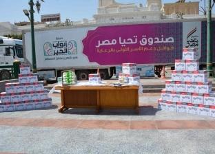 «تحيا مصر»: حملة «أبواب الخير» تستهدف 650 ألف أسرة في رمضان