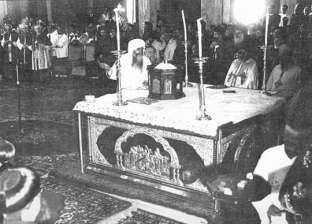 اليوم.. الذكرى الـ51 لإقامة أول قداس بالكاتدرائية المرقسية بالعباسية