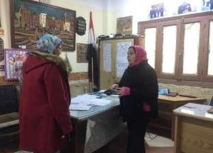 """وكيل """"تعليم الإسكندرية"""" تتفقد لجان امتحان """"العربي"""" للشهادة الإعدادية"""