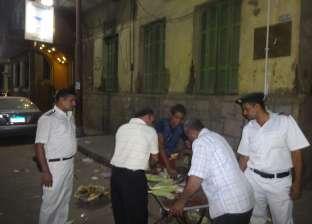 ضبط 57 محضر إشغال طريق في القاهرة