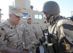 الفريق محمد فريد يشهد تدريبات وحدات المنطقة الشمالية العسكرية