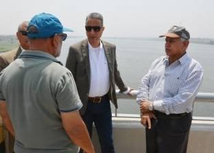 محافظ سوهاج يتابع تنفيذ المرحلة الأولى من محور كوبري طما على النيل