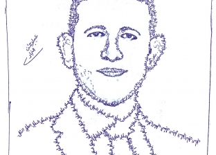 «عبدالرحمن» يرسم بورتريهاً للشهيد «عمر»: الله يرحمك يا بطل