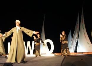 فرقة رضا للفنون الشعبية تبهر الحضور في افتتاح مؤتمر منظمة السياحة العالمية بالأقصر