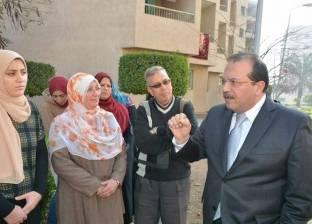 رئيس جامعة طنطا يتابع أعمال تسكين الطلاب بالمدن الجامعية