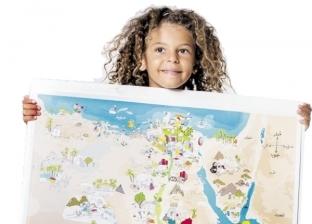 """أطفال وعرائس على خريطة مصر: أسهل من """"الجغرافيا"""" مفيش"""