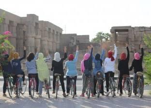 بنات الصعيد ينشطن السياحة بمبادرة لركوب «العجل»: الأقصر بلدنا
