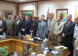 تخريج الدفعة 27 لكلية الطب البشري بجامعة المنيا