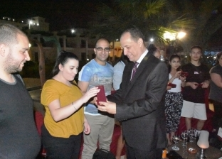 نائب محافظ أسوان يلتقى شباب الجالية المصرية باستراليا