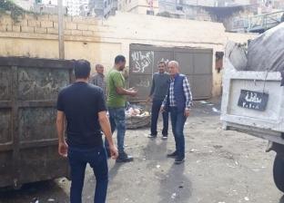 """حملة للتصدي إلى """"النباشين"""" في حي منتزه ثانٍ بالإسكندرية"""