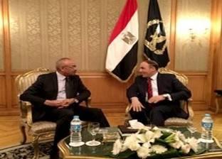 وزير الداخلية الجزائري يزور مصلحة الأمن العام المصرية