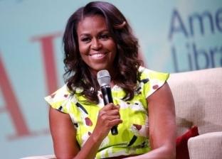 """ميشيل أوباما عن علاقاتها بـ""""بوش الابن"""": لطيف وجميل ومضحك وطيب"""