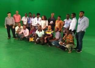 بالصور  الإذاعيون الأفارقة يشاركون في ثاني أسابيع دورة الأعلى للإعلام