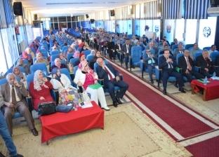 جامعة سوهاج تفتتح مؤتمر التربية والتنمية الثقافية