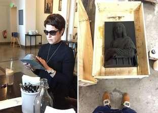 """بالفيديو والصور  بـ""""لوحات 3D"""".. """"فان جوخ"""" يتيح للمكفوفين رؤية الفن"""