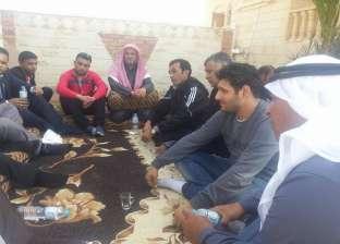 المجلس القومى للمرأة يزور تجمعات المنقولين من أهالي الشيخ زويد ورفح