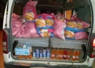 ضبط 364 عبوة أغذية فاسدة في الغربية