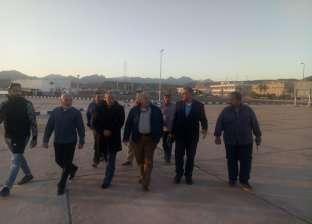 رئيس هيئة موانئ البحر الأحمر يتفقد ميناء شرم الشيخ البحري