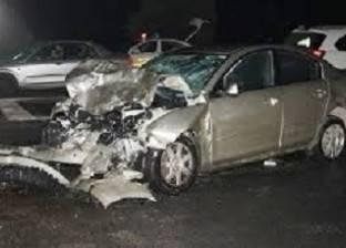 إصابة مواطنين في انقلاب سيارة بالفيوم