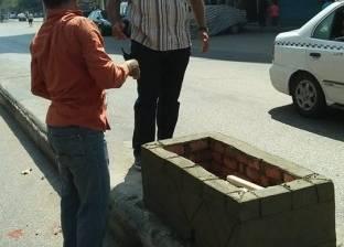 """رئيس حي باب الشعرية يتابع استكمال مبادرة """"الرصيف حق للمشاة"""""""
