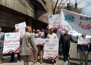 مسيرات بجاردن سيتي والتحرير احتفالا بالاستفتاء على التعديلات الدستورية