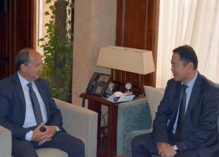 """وزير التجارة والصناعة يبحث """"إل جي"""" خططها للتوسع في مصر"""