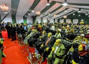 """وصول حسن راتب و الغزالي حرب إلى احتفالية """"الوفد"""" بعيد الجهاد"""