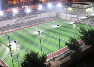 """تطوير جمعية """"الشبان المسلمين"""" بمطروح.. وإنشاء ملعب كرة قدم خماسي"""