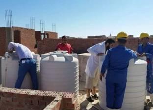 تطهير 1388 خزان مياه في المدارس والمستشفيات بالدقهلية
