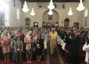 بالصور| مواقف البابا تواضروس في چيرسي سيتي بأمريكا