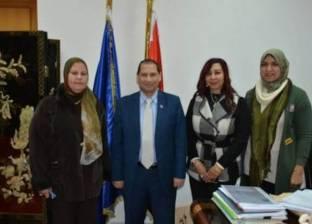 تشكيل وحدة مناهضة العنف ضد المرأة بجامعة بورسعيد
