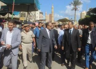 بالصور| مدير أمن كفر الشيخ يتفقد التمركزات الأمنية بدسوق