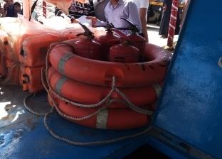 بالصور| النقل النهري: حملات تفتيشية مفاجئة على الوحدات النهريةبالمحافظات