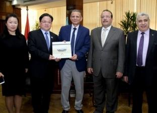 """بالصور  بروتوكول تعاون بين جامعة طنطا و""""نانقوه"""" الصينية"""