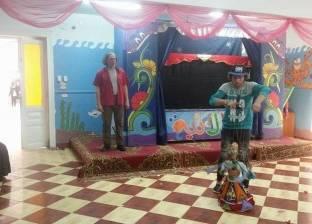 """""""ثقافة الطفل بالمنصورة"""" يحتفل مع أطفال مبرة الشناوي بـ""""يوم اليتيم"""""""