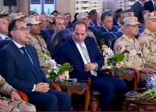 السيسي يكلف قائد المنطقة الشمالية العسكرية بجمع متأخرات الدولة