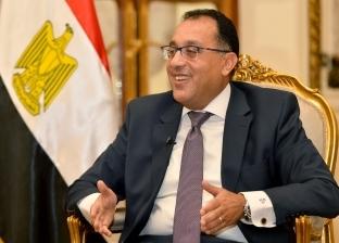 رئيس الوزراء يستقبل نائب الرئيس الصيني بمطار القاهرة