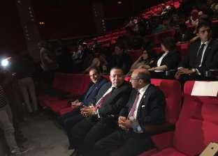 بدء العرض الخاص لفيلم الممر بحضور عمر مروان وعدد من البرلمانيين