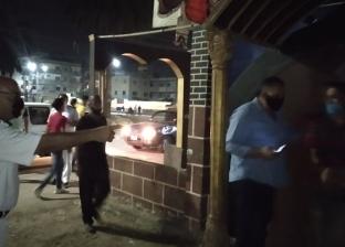 ضبط مقاهي تخالف أوقات الحظر وتقدم الشيشة في المطرية بالدقهلية