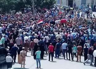 جنازة عسكرية مهيبة للشهيد مقدم مصطفى الخياط في الإسماعيلية