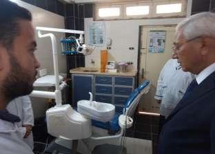 """محافظ الدقهلية: تخصيص جهاز سونار لوحدة طب الأسرة في قرية """"جراح"""""""